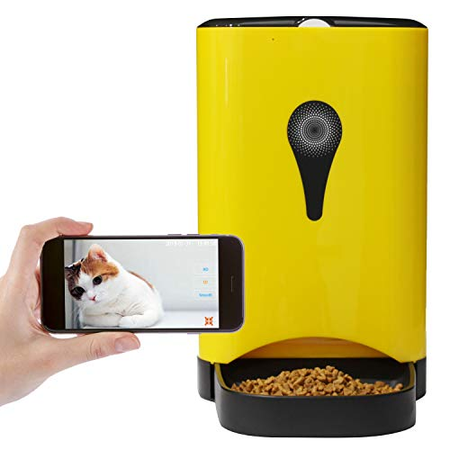 Dr. Feeder 4.5L Smart HD Camera Feeder for Video and Audio Communication, Automatic Pet Feeder for Cats and Dogs, APP...
