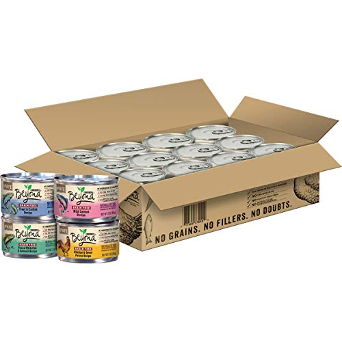 Purina Beyond Grain Free Adult Wet Cat Food Variety Pack - (24) 3 oz. Cans (Packaging May Vary)